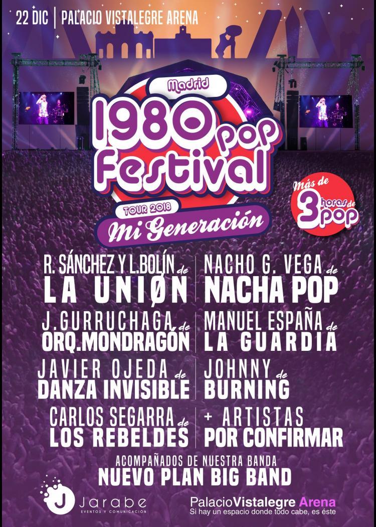 1980 POP FESTIVAL VALLADOLID