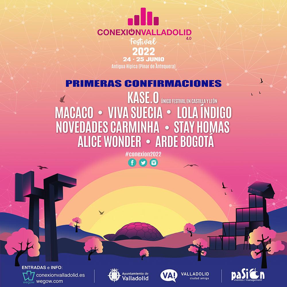Conexion Valladolid 2022 - Conciertos Valladolid