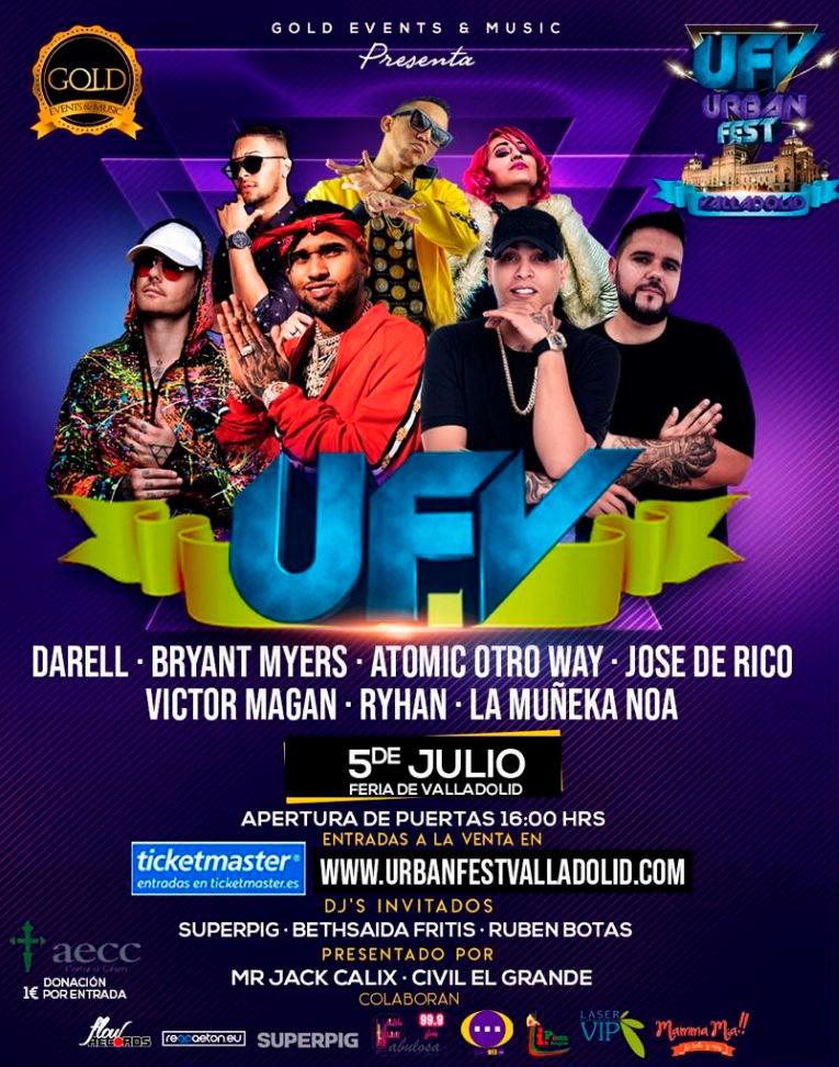 Urban Fest Valladolid 2019 -Conciertos Valladolid
